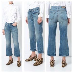 GRLFRND Linda Pop Cropped High Rise Jeans 23